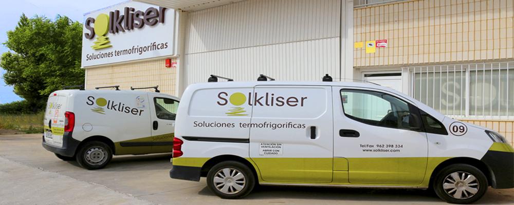 climatizacion de calidad solkliser flota furgonetas